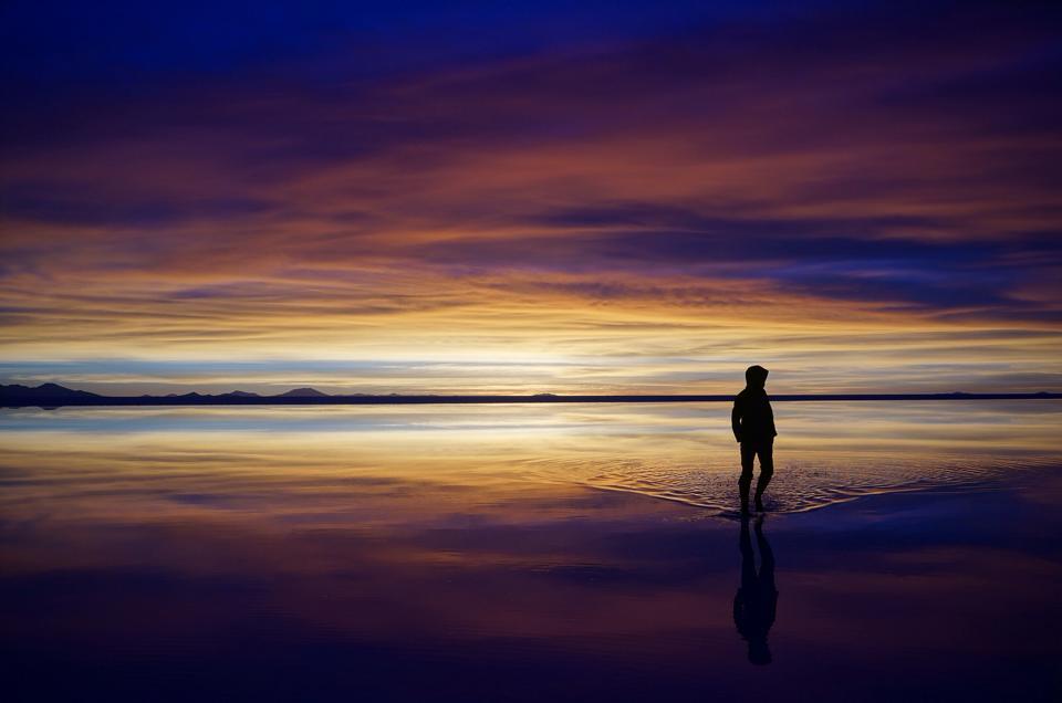 ウユニ塩湖と私
